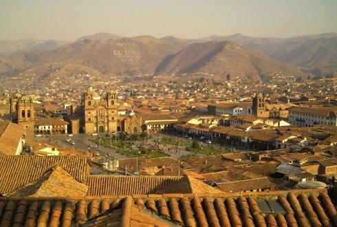 Cusco bij dag_bijgesneden
